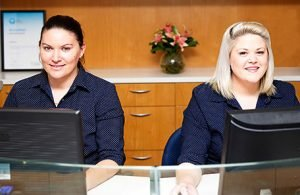 DentArana Receptionists Smiling | Dentist Arana Hills