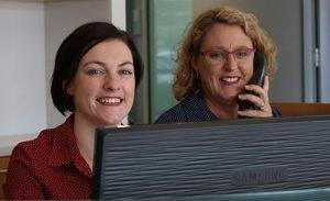 DentArana Receptionist Smiling | Dentist Ferny Hills
