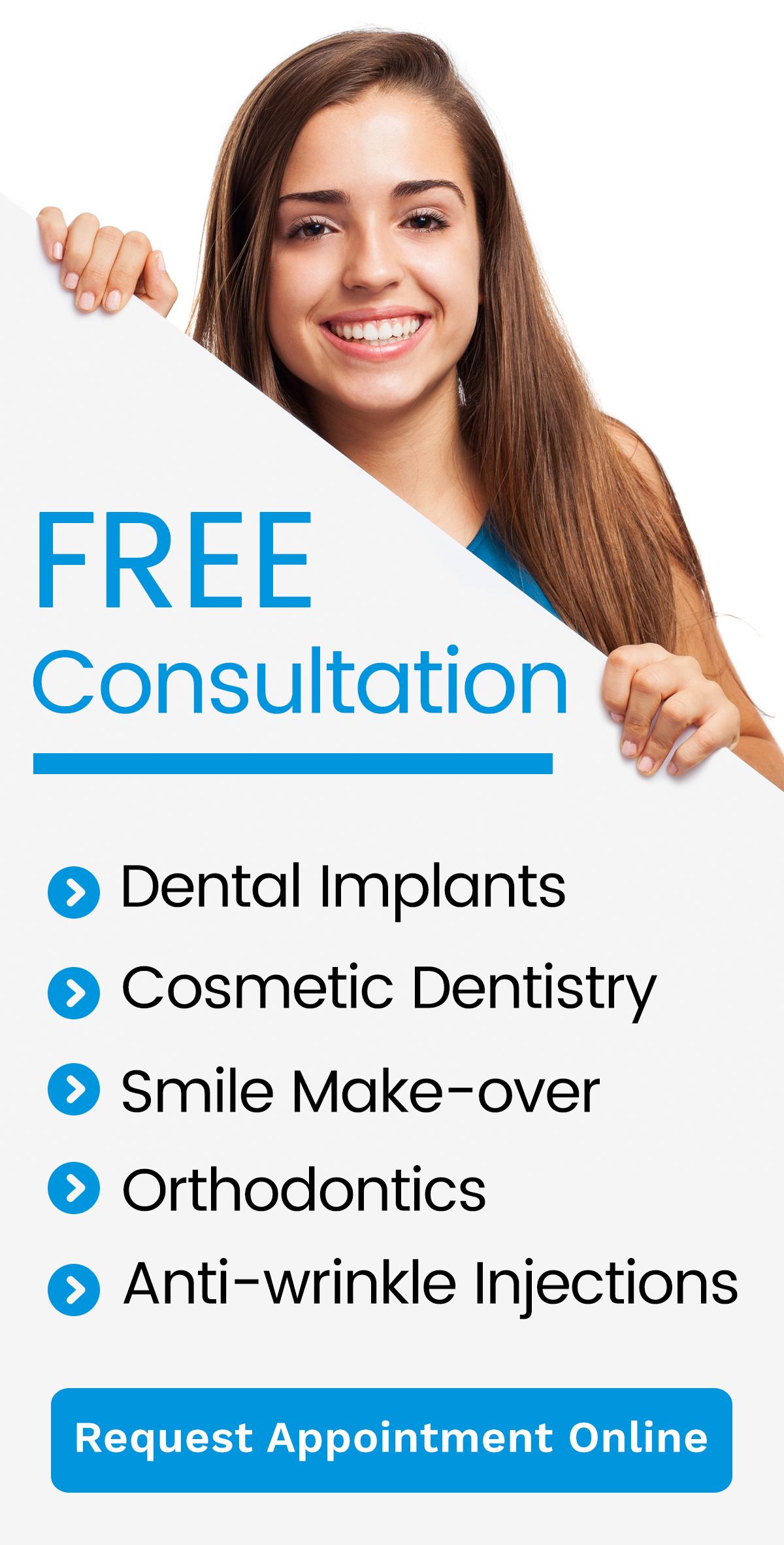FREE Consultation Banner | Dentist Arana Hills