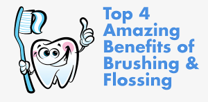4 Surprising Benefits of Brushing and Flossing Featured | Dentist Arana Hills