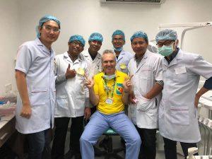 Dr Alan DentArana Mentor Senior Dental Students Cambodia
