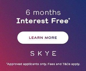 Skye 6 months Interest Free banner mobile Dentsit Arana Hills